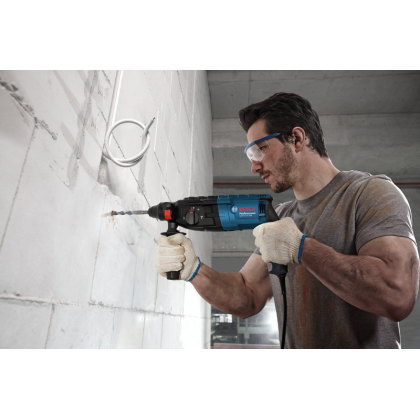 BOSCH Rotary Hammer with SDS plus GBH 2-24 DRE Professional FREE Skil SDS-Plus S2 Drill Bits
