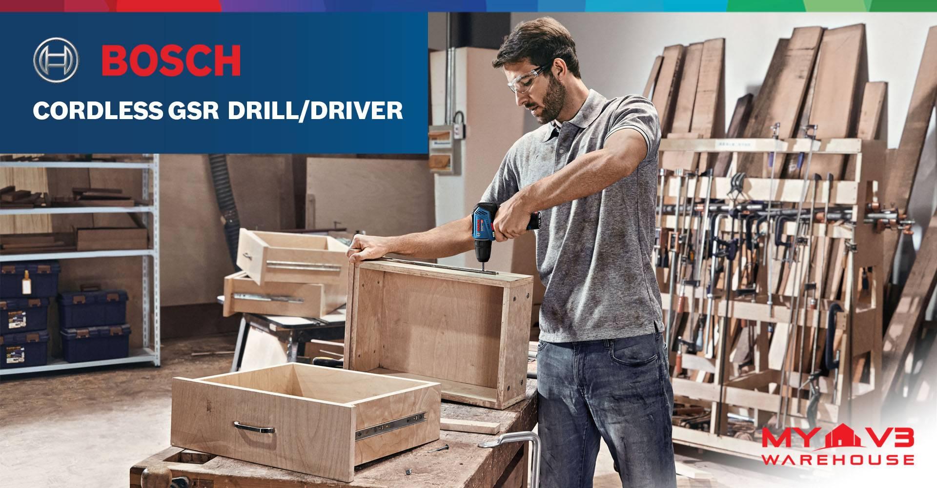 Cordless GSR Drill/Driver
