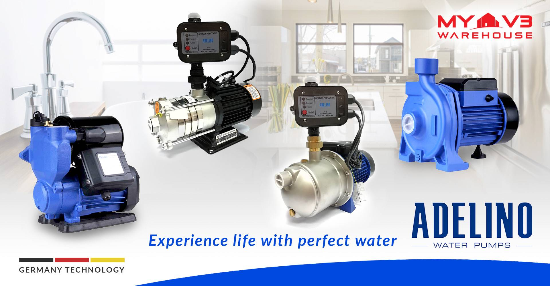 Adelino Water Pumps