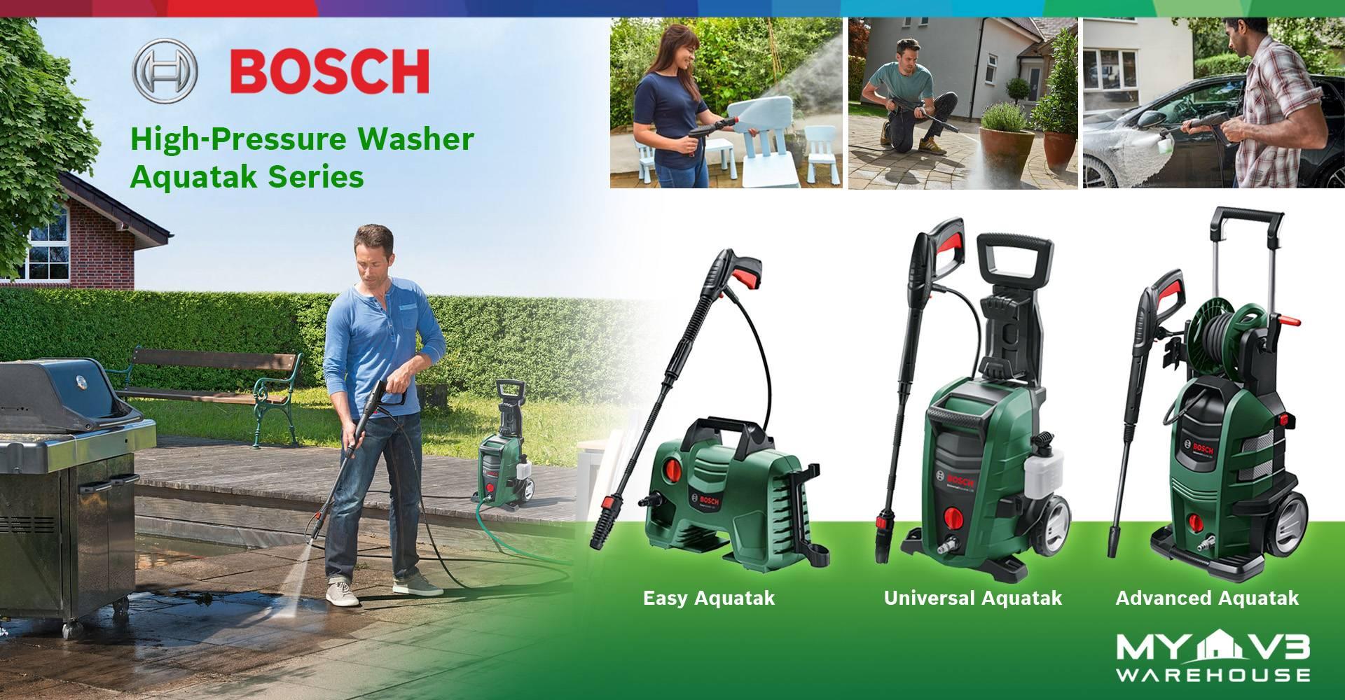 Bosch High Pressure Washer Aquatak Series